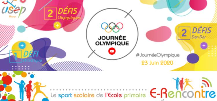 E-Rencontre Journée Olympique USEP Maroc